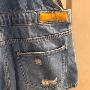 Zara Other - Zara denim overalls